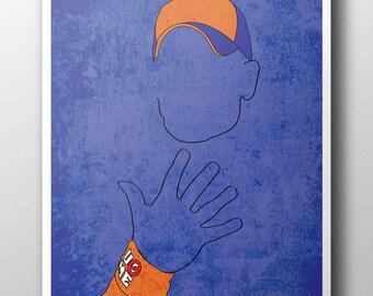 John Cena Minimalist Poster