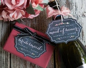 Will You Be My Bridesmaid Gift Tags or Card