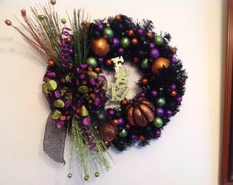 Eek! Halloween Wreath