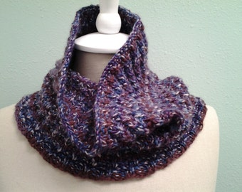Neck Warmer/Cowl Merino Wool Cashmere