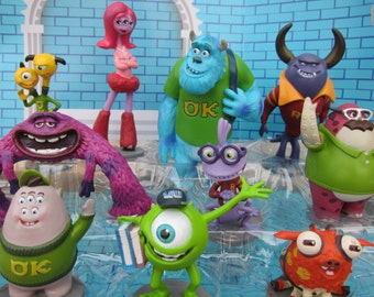 Monsters Inc Cake Toppers Australia