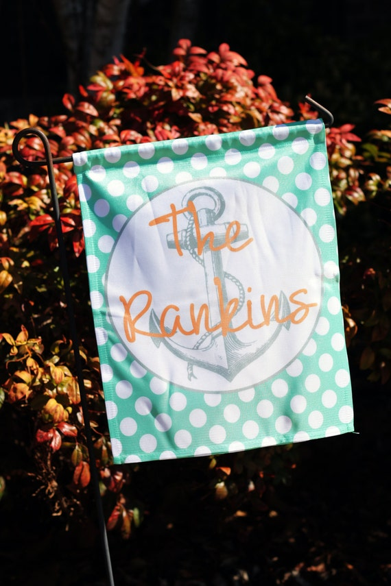 Personalized Garden Flag Nautical Designs Design Your Own Flag