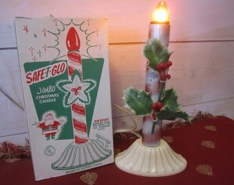 Vintage Electric Candle Safe-T-Glo Kitsch