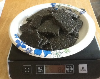 1/2 Pound of Home Made Black Sesame Seed Brittle