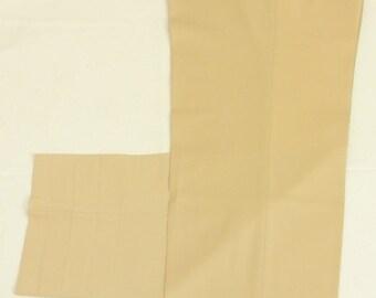 Unbranded Tan Wool/Cashmere Blend Dress Pleat Trouser Men's Waist Size: 39