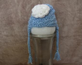 Crochet, Earflap, Baby