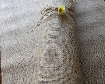 Natural Burlap Hessian Jute Roll 10m x 50cm