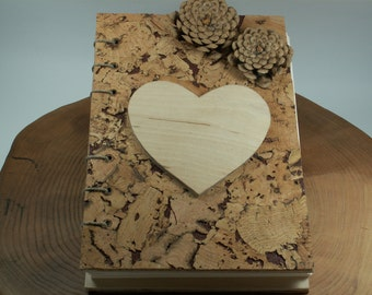 WEDDING GUEST BOOK Wood  Rustic