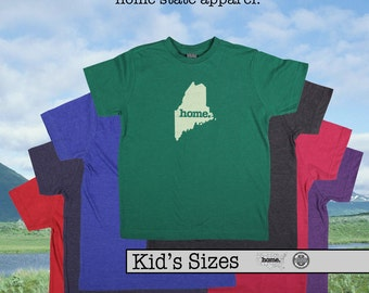 Maine home tshirt KIDS sizes The Original home tshirt