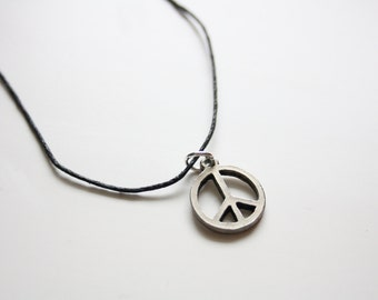 SALE Peace Necklace