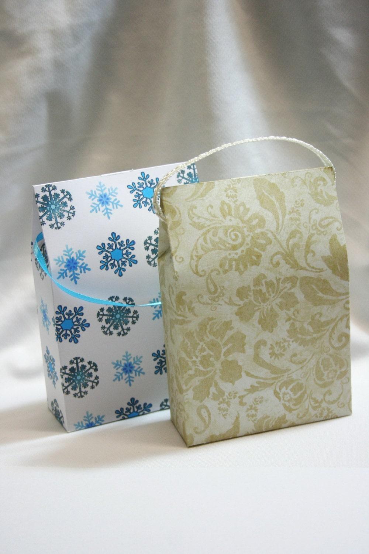diy bag gift bag paper bag bag template printable gift