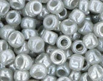 50 Grams 8/0 ~ Ceylon Smoke  (TR-08-150) TOHO Seed Beads