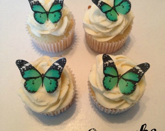 Green and Black Edible Butterflies -12