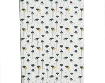 rain - 100% recycled paper notebook