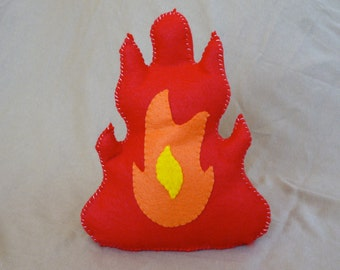 Felt Campfire, Felt Fire, Toy Fire, Play Campfire, Pretend Fire, Fake Fire, Toy Campfire, Faux fire