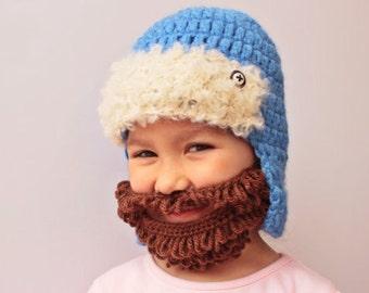 Crochet BEART and Hat, Toddler hat ,children hat ,Newborn hat ,toddler crochet hat ,baby hat