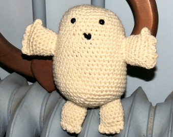 Adipose (fat) Baby Inspired Amigurumi - Made-to-Order