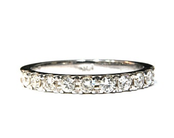 Glitter Wedding Ring 14K Yellow Gold Ring Wedding Woman Ring