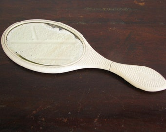Antique Hand Mirror Made by Florence Mfg Co in the Late 1800's