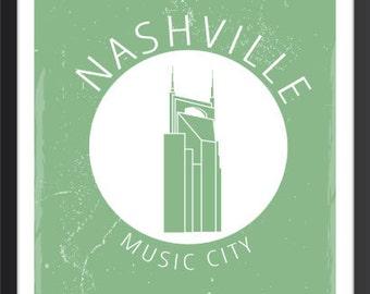 Nashville Skyline, Nashville Poster