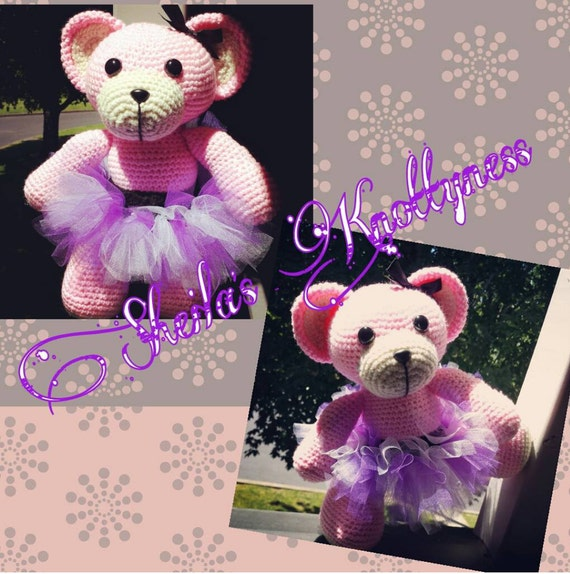 Crochet Ballerina Bear Free Pattern : Crochet Ballerina Bear