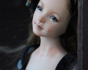 "FOR EXAMPLE! porcelain bjd ""Asya"" 02/15"
