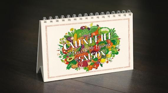 Calendrier des fruits & légumes de saison - Update!