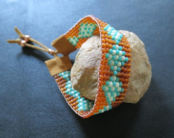 Southwest Loom Beaded Bracelet
