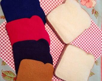 popular items for felt sandwich on etsy. Black Bedroom Furniture Sets. Home Design Ideas