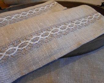 Linen Tea Towels Kitchen Towel Tea Towel Dish Towel Natural Linen Towel Hand Towel Lace Towel Rustic Towel Dish Towels Christmas Gift