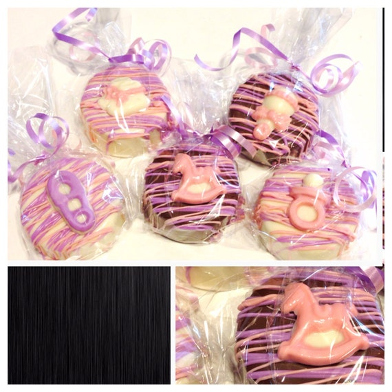 baby shower chocolate covered oreos baby shower favors set of 12