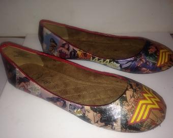 Wonder Woman flats