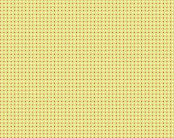 CLEARANCE - Enchant Green Dots by Natalie Lymer of Cinderberry Stitches for Riley Blake, 1/2 yard, C3475.