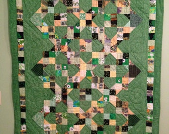 Quilt in green