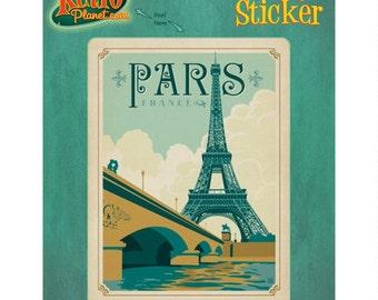 Paris France La Tour Eiffel Vinyl Sticker #47930