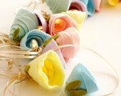 Pastel rose fairy lights, sugar plum fairy lights, wedding decor, pastel themed, wedding lighting, girls room decor, mothers day gift