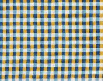 Windham Fabrics Pleasantdale 32399 4 Plaid Blue Yellow Cream by the Yard