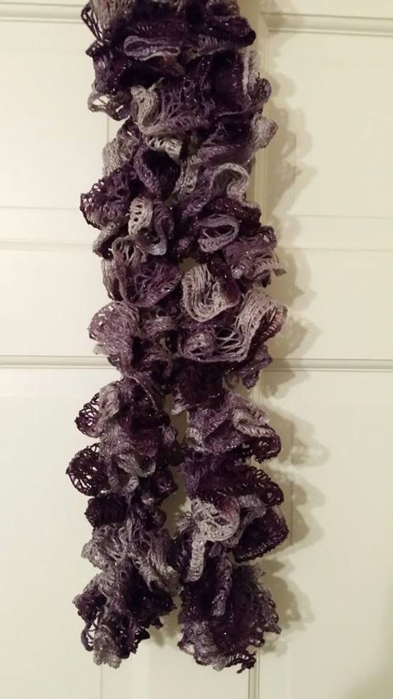 ruffle scarf sashay scarf crochet scarf crochet scarf