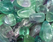 Fluorite Tumbled & Rough Gemstone Crystal