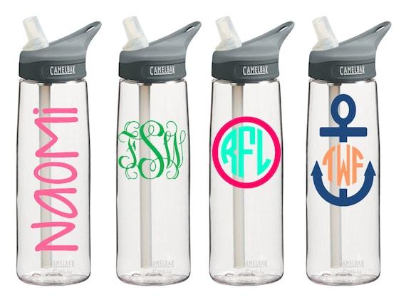 Personalized CamelBak Eddy Water Bottle .75L {clear}