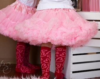 Pink Pettiskirt XL (6-8)