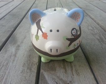 LARGE Piggy Bank Carter's Forest Friends