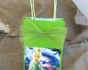Disney Thinkerbell 12 Birthday Party Favor Bags