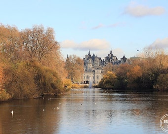 London Afternoon, London, Fine Art Photography, Prints, Photos, St. James Park, London Photography, Whitehall, Horse Guard, London Whimsical