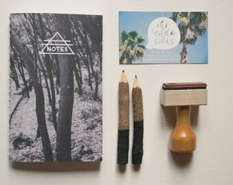 Indian Summer Jotter - Handbound Jotter, Notebook, Journal, Photography