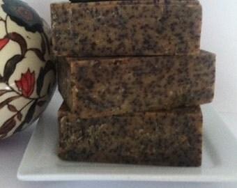 ORANGE COFFEE SCRUB All Natural Soap