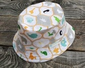 Orange Ark Friends Reversible Bucket Hat