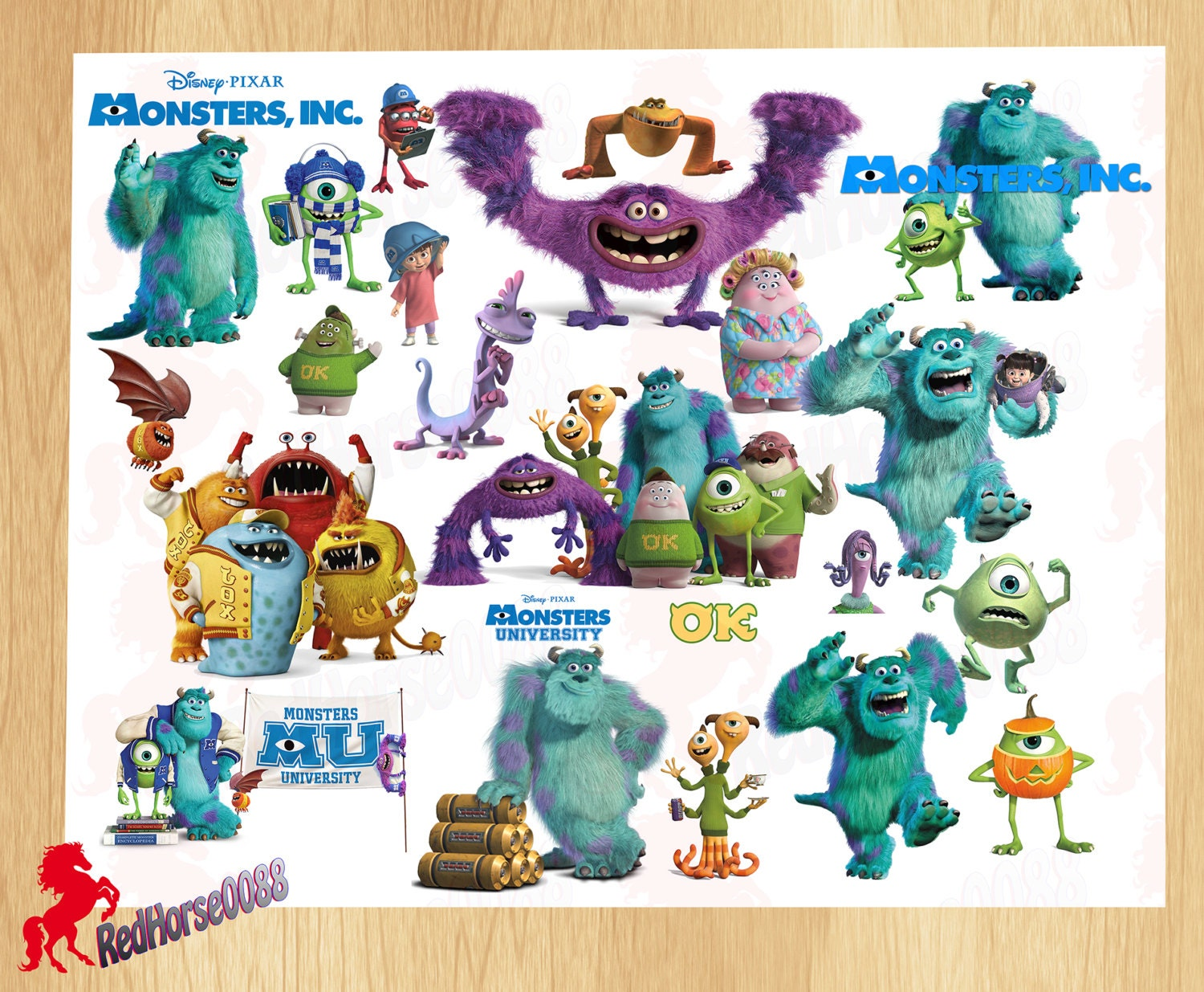 monsters inc all characters Gallery