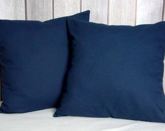 Navy Pillows. Pillow Covers. Home Decor. Throw Pillows. Modern Pillows. Blue Pillows
