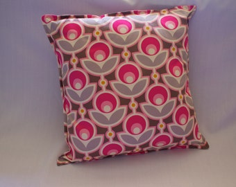 CLEARANCE - Cushion Cover in Primrose Pink, Joel Dewberry Notting Hill Collection Sateen